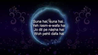 pehli dafa karaoke with lyrics download link in description atif aslam song ileana dcruz re