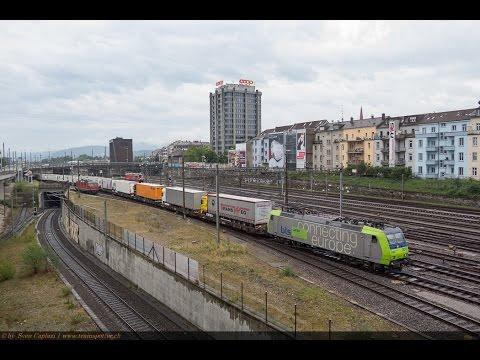 Güterzüge in Basel SBB
