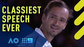 Daniil Medvedev's touching memory of Novak Djokovic   Wide World of Sports