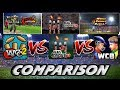 WCC2 vs Real Cricket 18 vs WCB Comparison Gameplay
