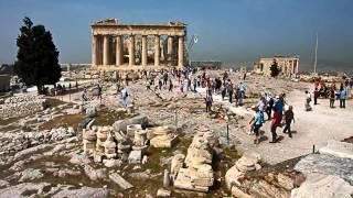 Афинский Акрополь.  Достопримечательности мира(Афинский Акрополь является исключительно ценным памятником архитектуры. Считается, что застройка холма,..., 2014-04-16T15:54:49.000Z)