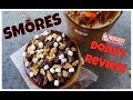 Dunkin Donuts New SMORES Donut Review