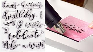 Quick and Easy Handmade Birthday Card Ideas