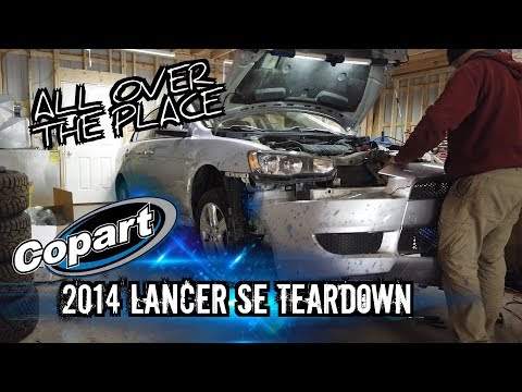 Lancer Teardown and MUCH MORE