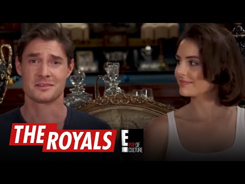 The Royals | Max and Genevieve Play the American Slang Game | E!