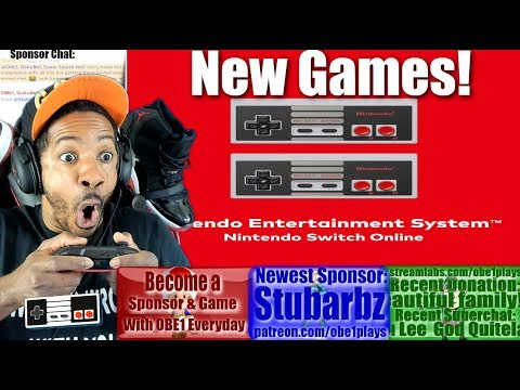 NINTENDO SWITCH ONLINE NEW NES GAMES ARE HERE!