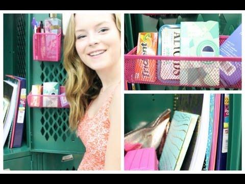 What's In My Locker? Organization & Tips!