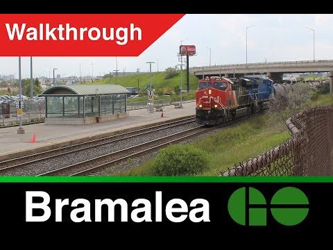 Kitchener GO - Bramalea Station Walkthrough