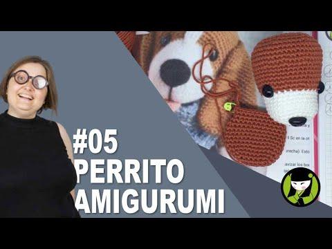 PERRITO AMIGURUMI 5 tutorial paso a paso