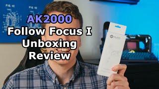 AK2000 Follow Focus I Unboxing Review Tutorial