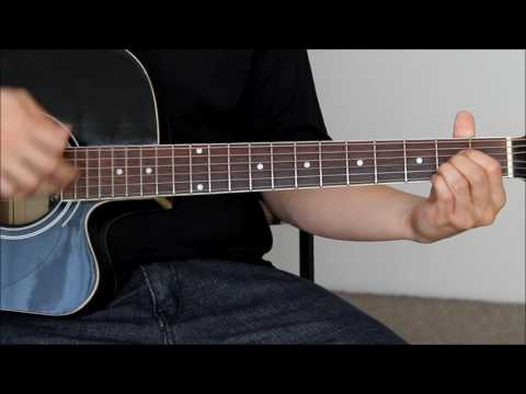 Crazy For You Guitar Tutorial