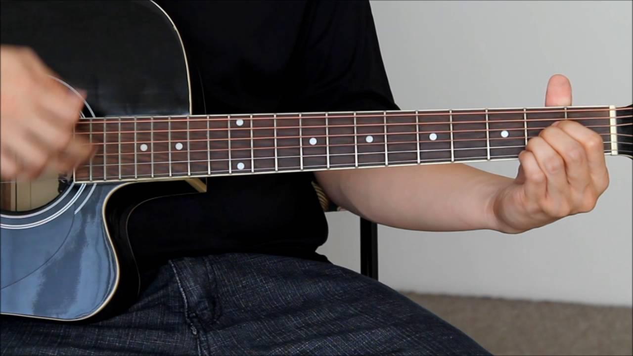 Crazy For You Guitar Tutorial Youtube