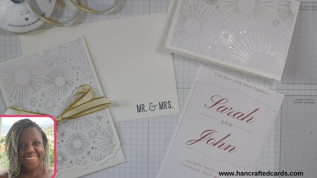 Create Your Own Wedding Invitations: How To Make Your Own Pocket Wedding Invitations 👰🤵