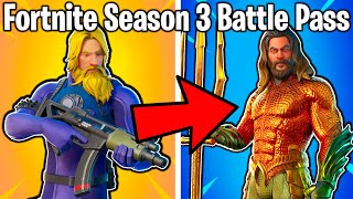 RANKING ALL SEASON 3 BATTLE PASS SKINS FROM WORST TO BEST!