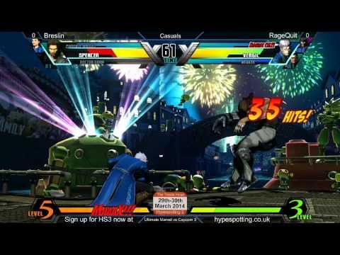 RageQuit vs Breslin UMvC3 Saltire Suite 06/03/14