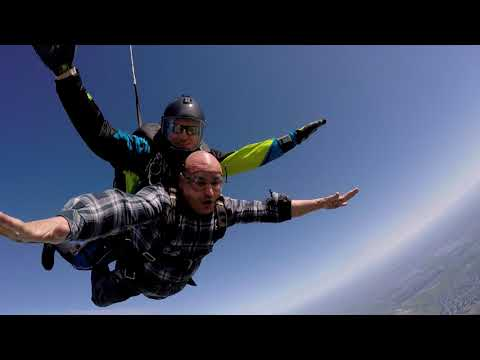 My first sky dive Byron Ca. ! April 15 2018