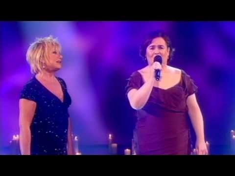Susan Boyle duets with Elaine Paige December 2009 -