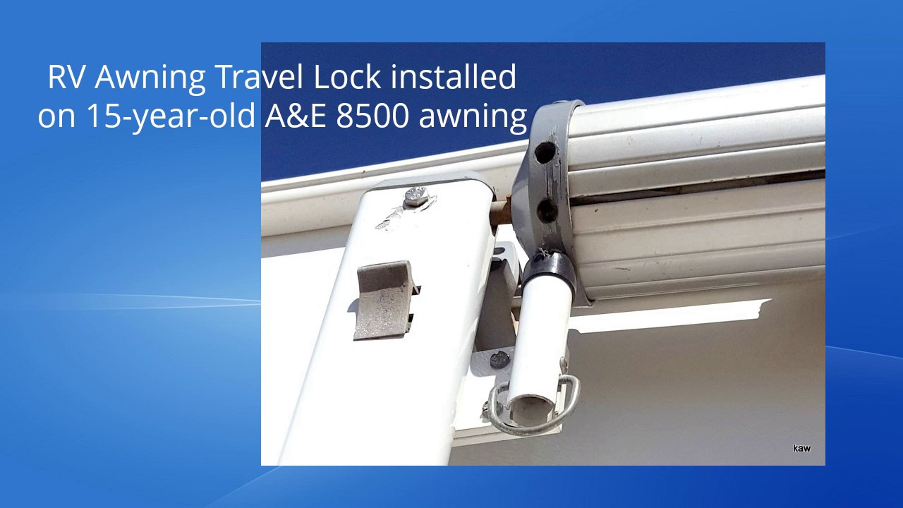 Rv Awning Travel Lock Facts Youtube