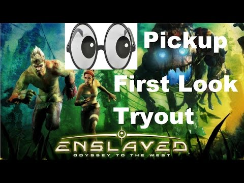 First look at Enslaved Odyssey to the West PS3 - Recent Pickup