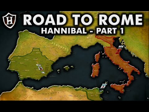 Road to Rome ⚔️ Hannibal (Part 1) - Second Punic War