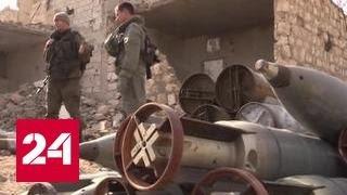 В Сирии военные взяли под контроль более 90 процентов территории Алеппо