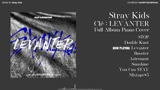 Download lagu [Full Album] Stray Kids - Cle : LEVANTER 전곡 모음 [PIANO COVER]