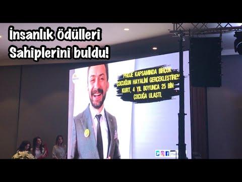 İnsanlık Ödülleri Sahiplerini Buldu! Yılın öğretmeni Ramazan Mervan Kurt (Ahmet Hakan, Haluk Levent)