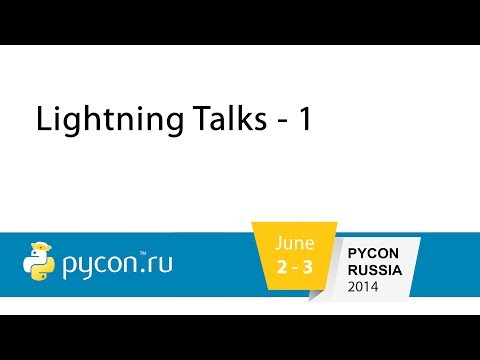 Image from Lightning talks - 1