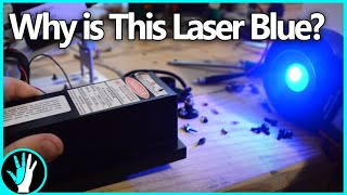 Make Lasers Change Color! DPSS Lasers and Second Harmonic Generation (Frequency doubling)