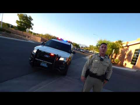 Las Vegas Police Dept. ( COPS ASK FOR ID, AND GET TOLD NO ) 1st Amend Auditi