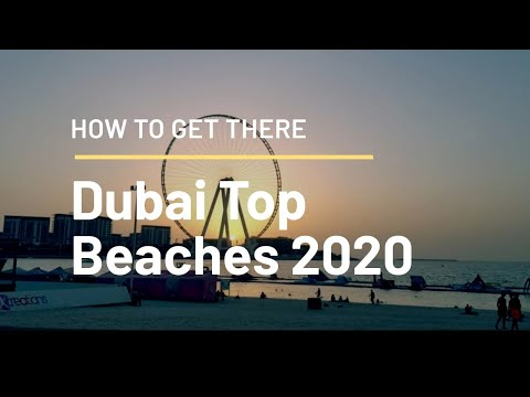 Dubai Top Beaches 2020 I Places To See In Dubai I La Mer I JBR I Kite Beach I Mamzar I Jumeirah I