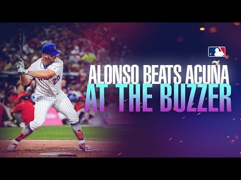 Pete Alonso pulls off buzzer-beater to beat Ronald Acuña at Home Run Derby