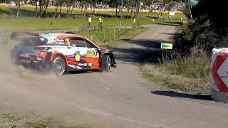 WRC Rallye Deutschland 2019 Shakedown & SS1| Close Calls, Østberg Crash & Hairpin Mistakes