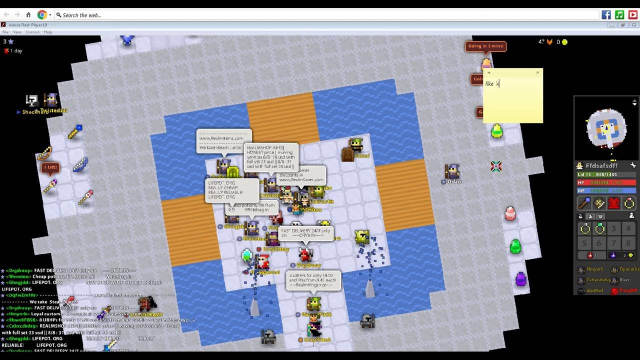 rotmg hacked client