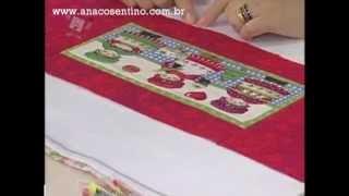 Patchwork Ana Cosentino: Jogo Americano Natal
