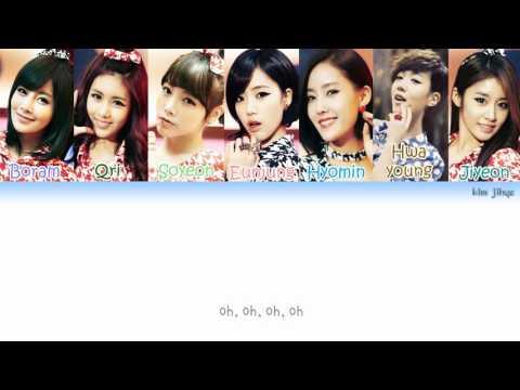 T-ARA (티아라) - Roly Poly (롤리폴리) Lyrics (Han|Rom|Eng|Color Coded) #TBS
