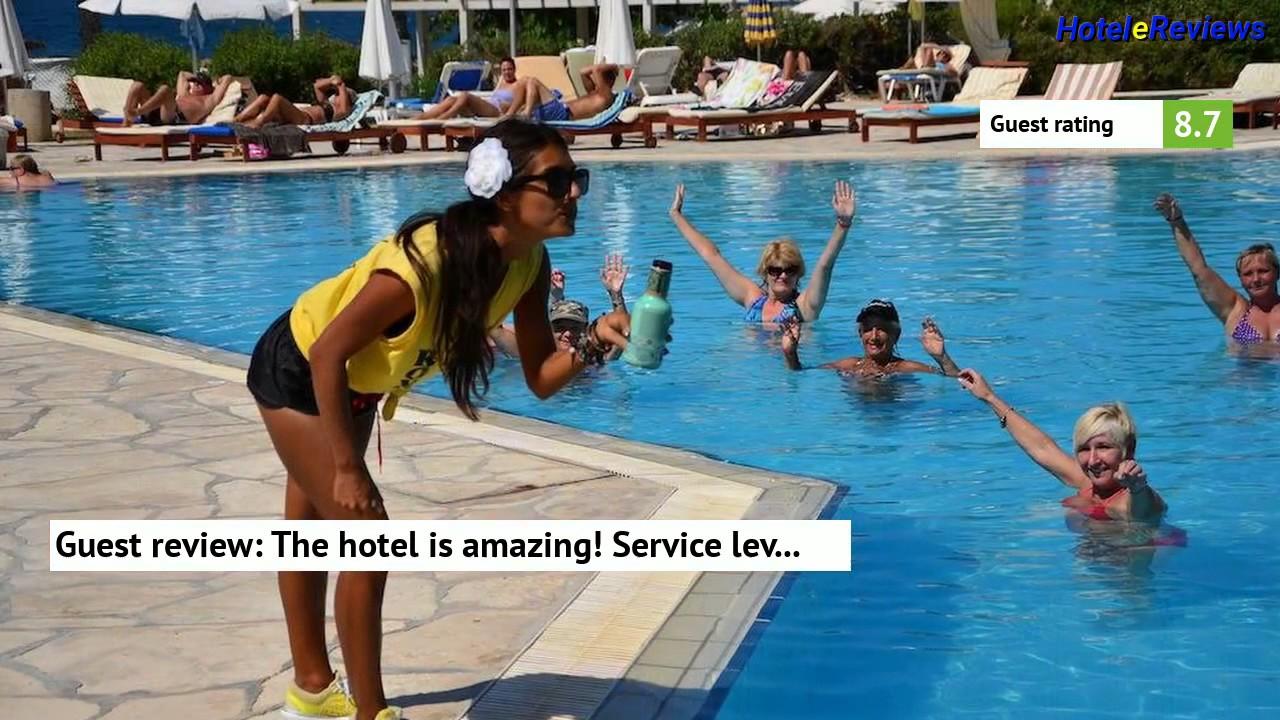 How To Book Cypria Maris Beach Hotel Spa Hotel Review 2017 Hd Yeroskipou Cyprus