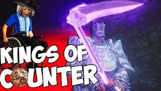 Dark Souls 3 PvP - Kings Of Counter - A Warpick Poise Monster!...It Means Nothing