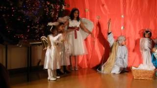 Little kids Christmas drama
