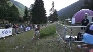 80km   Passage au Buet   Chamonix Marathon du Mont Blanc 2015