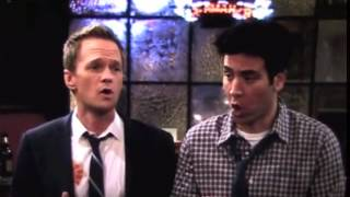 Ted and Barney singing - For the longest time