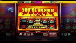 Gold Party Casino Burning Hot 7s Big Win