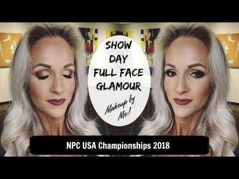 Show Day Glam Makeup | BIKINI COMPETITION STYLE thumbnail