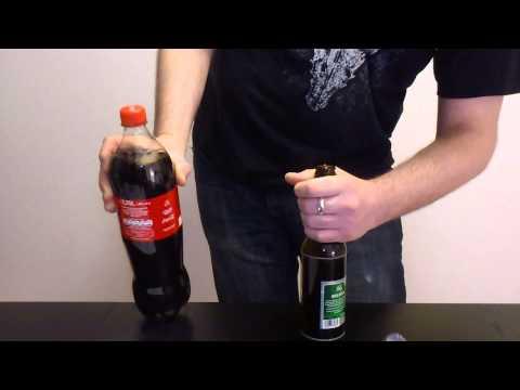 Flasche ohne Flaschenöffner öffnen / Bierflasche mit Gürtel öffnen