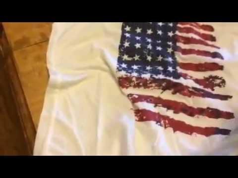 BX Apparel American Flag Tank Top