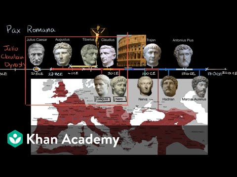 Emperors of Pax Romana | World History | Khan Academy