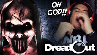THIS JUMPSCARE PULLED MY SOUL RIGHT OUT MY BODY | Dreadout ACT 2 (Part 2)