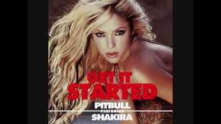Pitbull - Get It Started ft. Shakira (MP3) - Remix with Lyrics