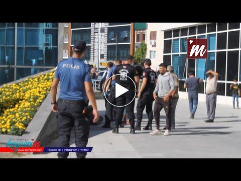Kayseri Adliyesi'nde demir çubuklu kavga: 2 yaralı, 13 gözaltı