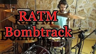 Rage Against The Machine - Bombtrack - Drum Cover By Amilton Garcia